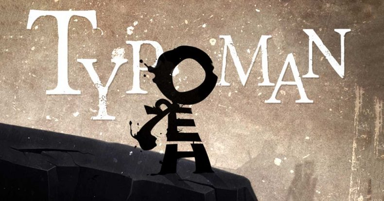 Typoman Coming to Xbox One Typoman Coming to Xbox One Typoman banner 790x415