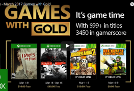 These Are the Four Free Xbox Games for Gold Members for March 2017 These Are the Four Free Xbox Games for Gold Members for March 2017 Xbox Games Gold March 2017 263x180