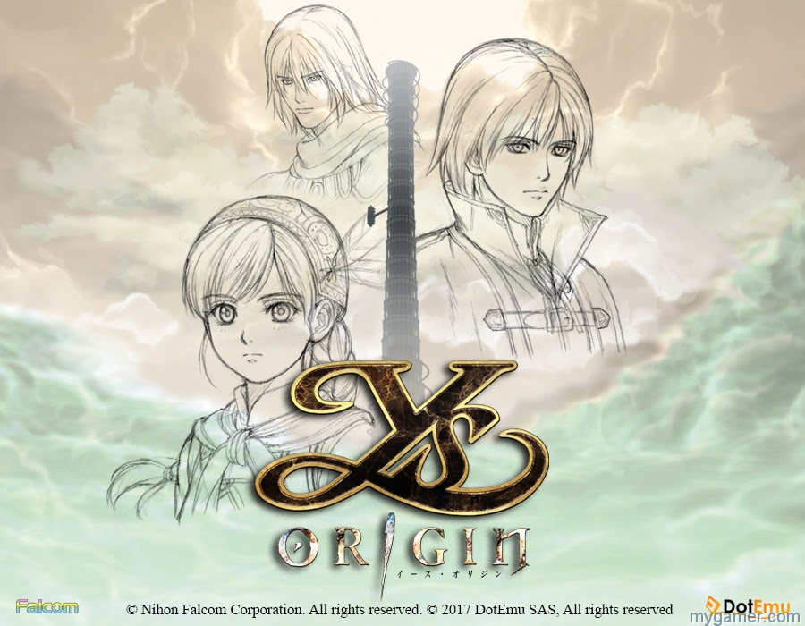 Ys Origin Now on PS4 Ys Origin Now on PS4 Ys Origin Banner