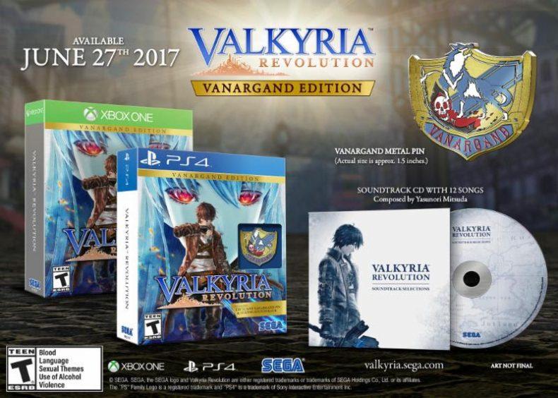 Valkyria Revolution Release Date Announced And New Trailer Here Valkyria Revolution Release Date Announced And New Trailer Here Valkyria Revolution boxset 790x564