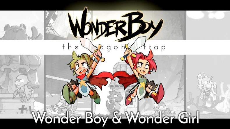 WONDER BOY: THE DRAGON'S TRAP INTRODUCES WONDER GIRL WONDER BOY: THE DRAGON'S TRAP INTRODUCES WONDER GIRL Wonderboy Wonder Girl Dragons Trap 790x444