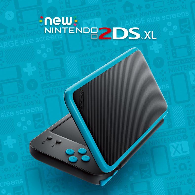 Nintendo 2DS XL Nintendo to Launch New Nintendo 2DS XL Portable System on July 28 Nintendo to Launch New Nintendo 2DS XL Portable System on July 28 2DSXL 1 790x790