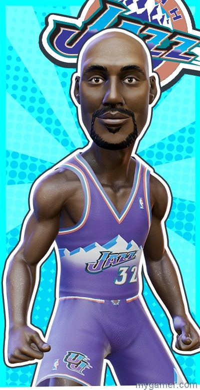 NBA Playgrounds Player Roster Leaked NBA Playgrounds Player Roster Revealed NBAPlaygrounds Karl Malone