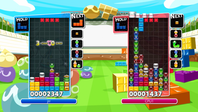 Puyo Puyo Tetris Demo Now Available on eShop PuyoPuyo Tetris sc1 790x448