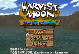 Harvest Moon: Save the Homeland Grows New Life on PS4 Harvest Moon: Save the Homeland Grows New Life on PS4 Harvest Moon Save the Homeland title 263x180