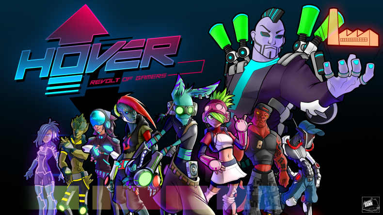 Did You See the Trailer for Hover: Revolt of Gamers? It is Sorta Like a New Jet Set Radio. Did You See the Trailer for Hover: Revolt of Gamers? It is Sorta Like a New Jet Set Radio. Hover Revolt of Gamers banner 790x444
