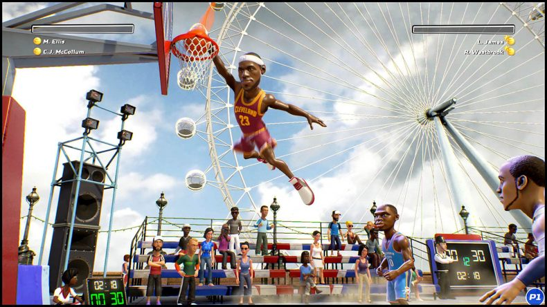 NBA Playgrounds Switch Nintendo Download: Blast Before You Buy - New featured content Nintendo Download: Blast Before You Buy – New featured content Switch NBAPlaygrounds screen 02 790x444