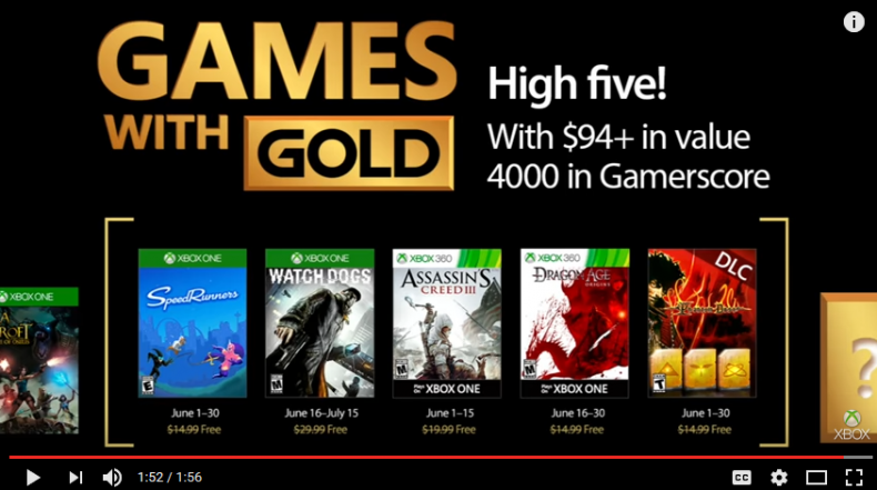 These Are the Free Xbox Games for June 2017 With Added Bonus These Are the Free Xbox Games for June 2017 With Added Bonus Xbox Games with Gold June 2017 790x441