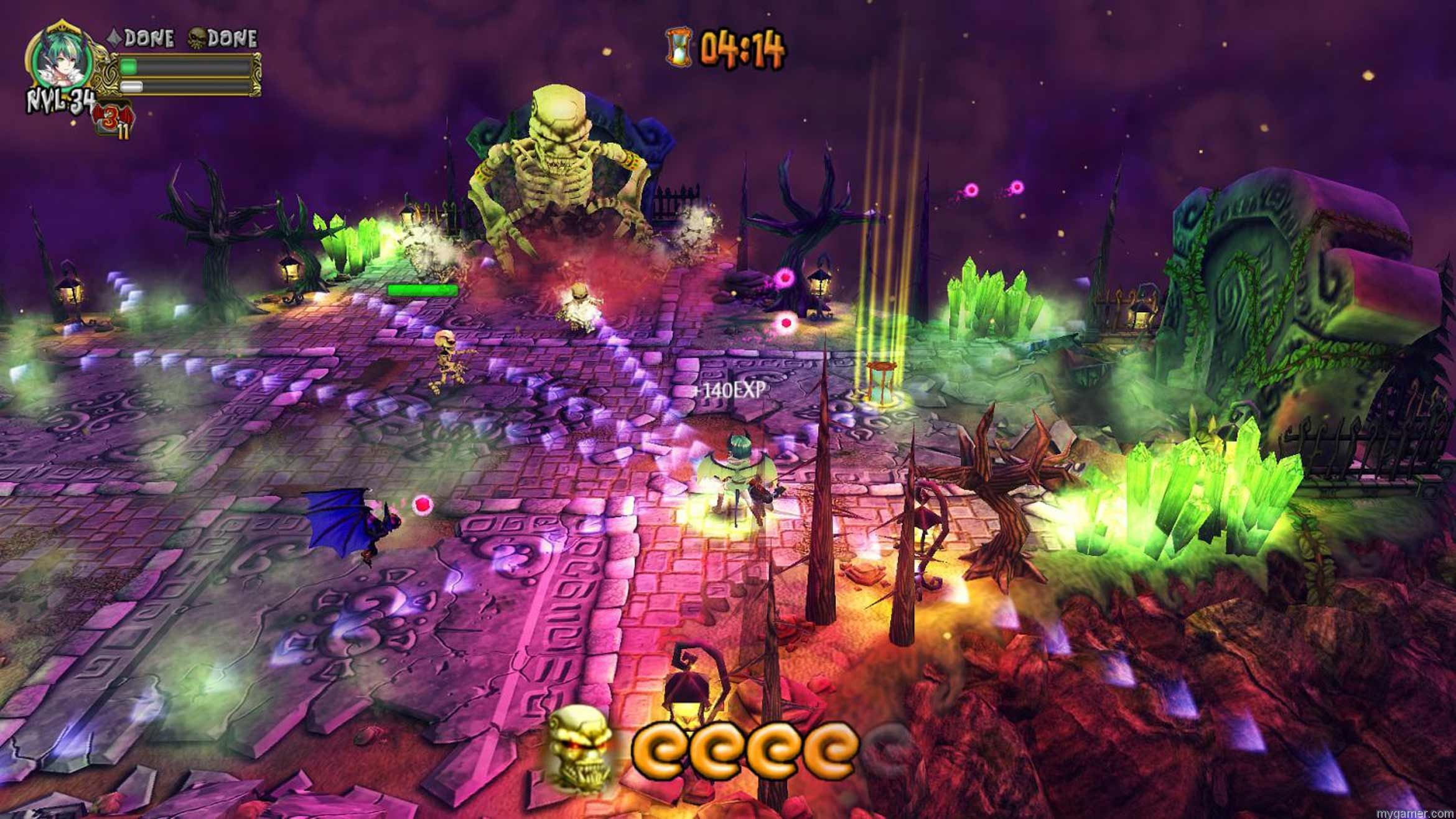 Demon's Crystals Xbox One Review Demon's Crystals Xbox One Review with Stream demons crystals screenshot 1