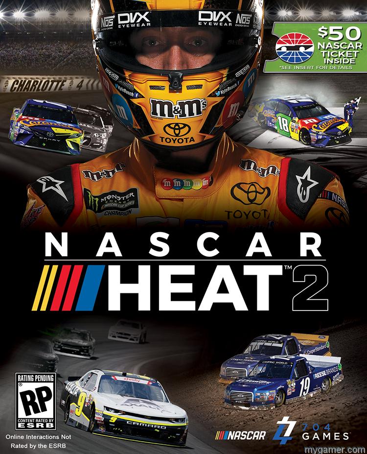 [object object] Buy NASCAR Heat 2 Game, Get $50 Towards Real Life NASCAR Event NASCAR Heat 2
