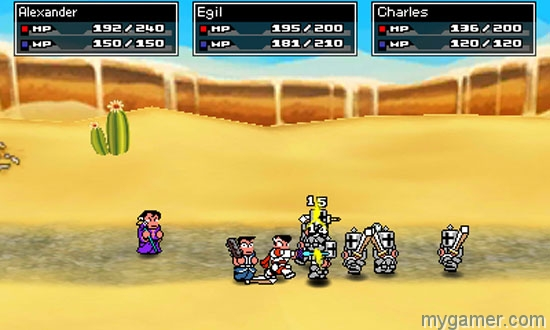 [object object] River City: Knights of Justice Out Now on 3DS eShop RCKOJ SShot20