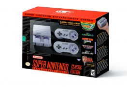 [object object] Nintendo Announces the SNES Classic Edition SNES Mini console box 263x180
