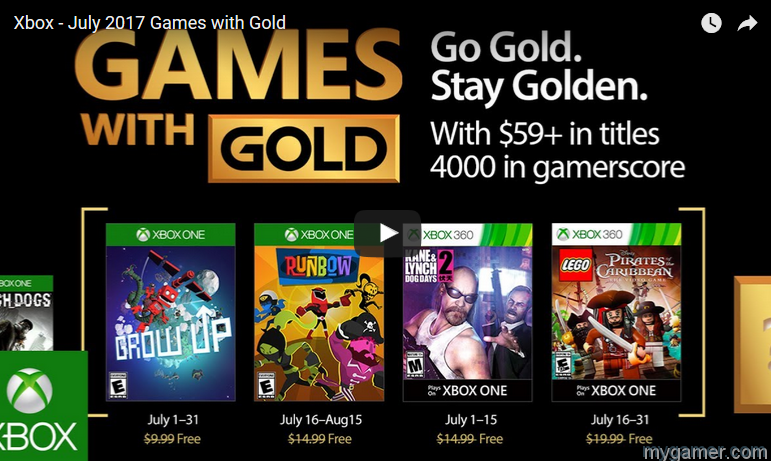 [object object] Here Are the Free Xbox Games for July 2017 Xbox Games with Gold July 2017
