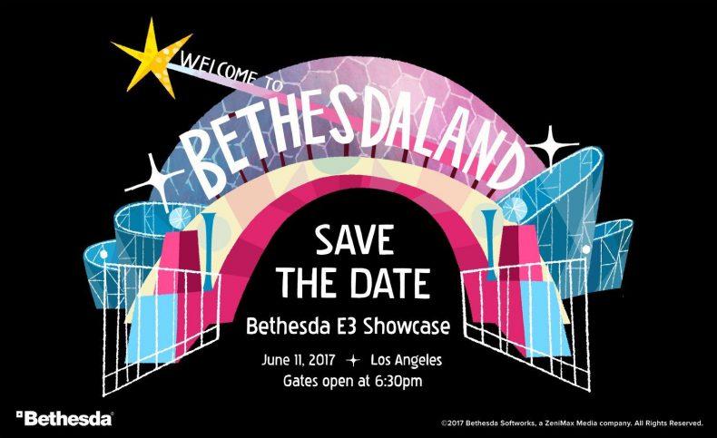 E3 2017 – Bethesda Press Conference Summary E3 2017 – Bethesda Press Conference Summary bethesda E3 2017 invite 790x483