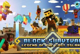 [object object] Block Survival Looks like Minecraft Meets Turok – Trailer Here Block Survival banner 263x180