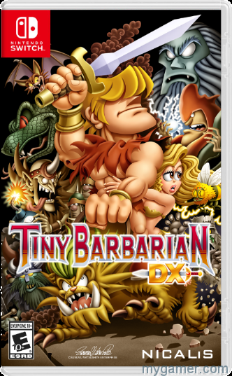 tiny barbarian dx gets release date Tiny Barbarian DX Gets Release Date Tiny Barbarian DX Switch cover