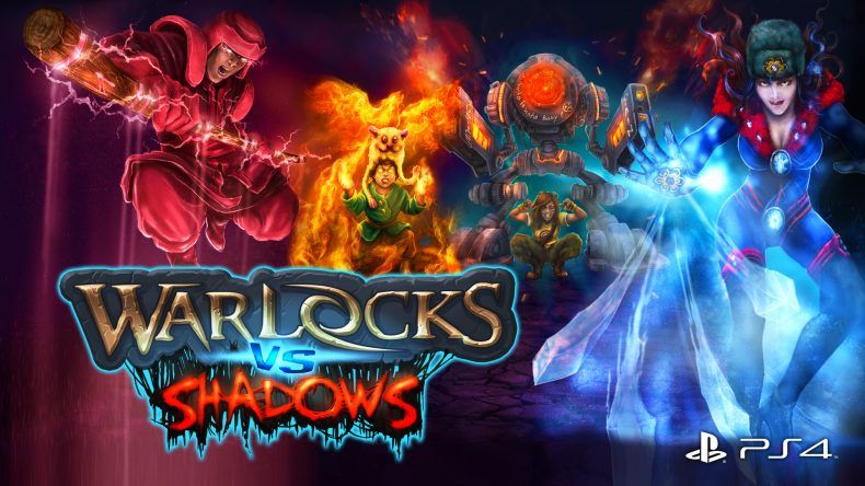 [object object] Warlocks vs Shadows Now Available on PS4 – Trailer Here WarlocksVsShadows art PS4 790x444