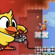 chicken wiggle now available on 3ds eshop Chicken Wiggle Now Available on 3DS eShop Includes Level Editor Chicken Wiggle banner 115x115