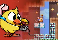 chicken wiggle now available on 3ds eshop Chicken Wiggle Now Available on 3DS eShop Includes Level Editor Chicken Wiggle banner 204x142