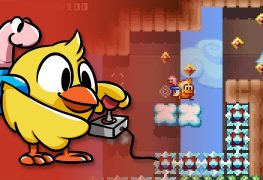 chicken wiggle now available on 3ds eshop Chicken Wiggle Now Available on 3DS eShop Includes Level Editor Chicken Wiggle banner 263x180