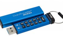 kingston's datatraveler 2000 encryted usb flash drive now available in many sizes Kingston's DataTraveler 2000 Encryted USB Flash Drive Now Available in Many Sizes Kingston DataTraveler 2000 4GB 204x142
