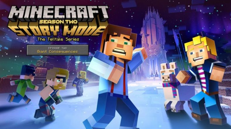 [object object] Minecraft: Story Mode – Season Two Coming Mid-Aug, Switch Gets Physical Season One Minecraft Telltale Season 2 790x444