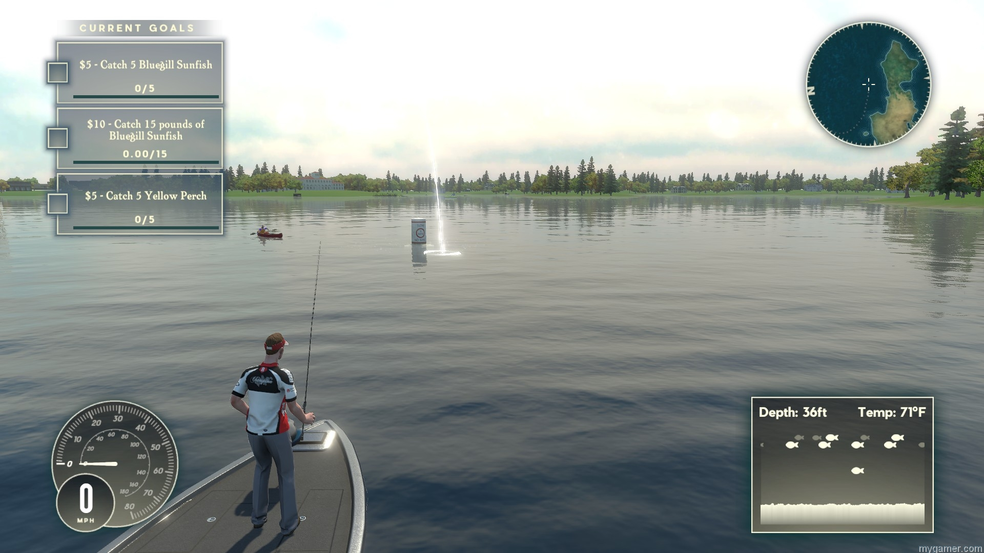 Rapala fishing pro series will be available in oct on ps4 x1 for Pro fishing games