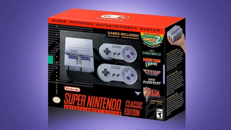 the hunt for a snes classic is already out of control The Hunt For A SNES Classic is Already Out of Control SNES Classic box 790x444