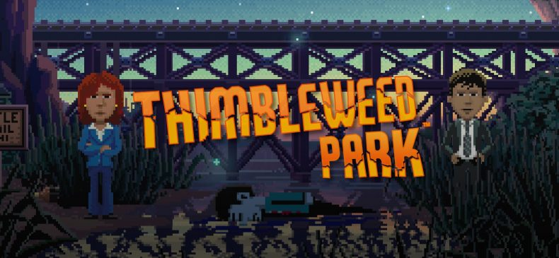 thimbleweed park coming to ps4 in aug, switch in sept Thimbleweed Park Coming to PS4 in Aug, Switch in Sept Thimbleweed Park 790x365