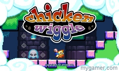 chicken wiggle 3ds eshop review Chicken Wiggle 3DS eShop Review Chicken Wiggle intro