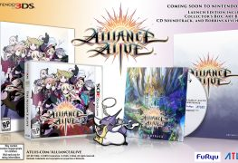 the alliance alive launch edition comes with an exclusive soundtrack, art book and robbins keychain The Alliance Alive Launch Edition Comes with Exclusive Stuff AA GlamShot Launch 01b 263x180