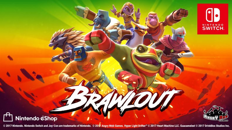 smash bros clone brawlout launches dec 19 on switch with special guest fighters Smash Bros Clone Brawlout Launches Dec 19 on Switch With Special Guest Fighters BrawlOut Switch 790x444
