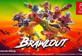 smash bros clone brawlout out now for switch and pc Smash Bros Clone Brawlout Out Now for Switch and PC Brawlout Switch banner 263x180