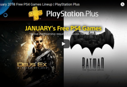 playstation plus: free games for january 2018 PlayStation Plus: Free Games for January 2018 PS Jan 2018 Free 263x180