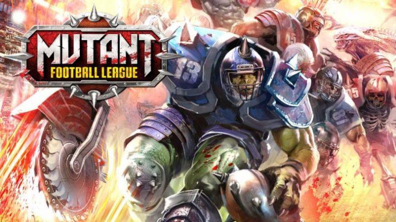mutant football league now available on xbox one and ps4 Mutant Football League Now Available on Xbox One and PS4 Mutant Football League banner 790x444