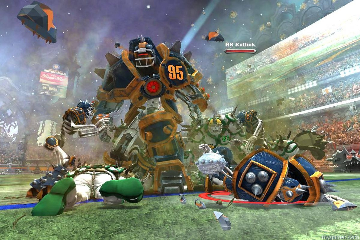 mutant league football 2018 xbox one review Mutant League Football 2018 Xbox One Review Mutant Leagure Football robot